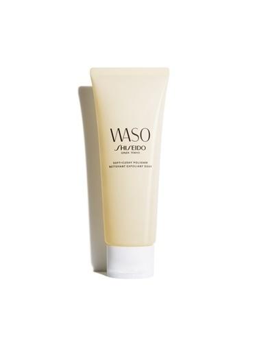 Shiseido Shiseido Waso Soft Cushy Polisher Donuk Lekeli Yorgun Ciltler IÇin Birebir Olan Peeling 75 ml Renksiz